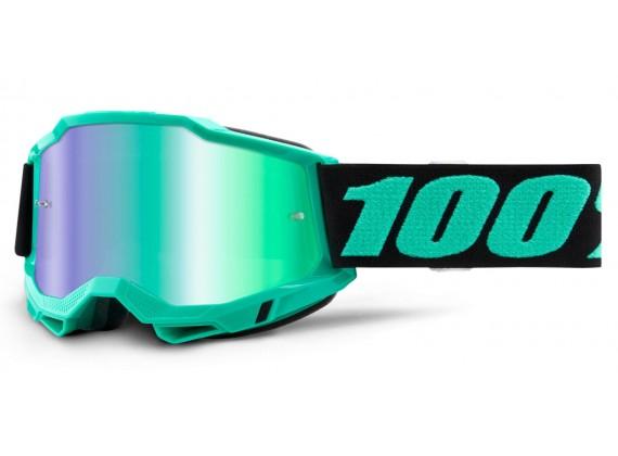 ACCURI 2 100% - USA , brýle Tokyo - zrcadlové Green plexi