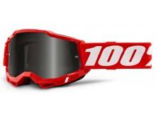 ACCURI 2 100% - USA , Sand brýle červené - kouřové plexi