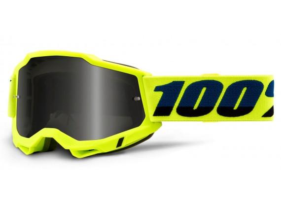 ACCURI 2 100% - USA , Sand brýle žluté - kouřové plexi