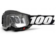 ACCURI 2 100% - USA , OTG brýle černé - čiré plexi
