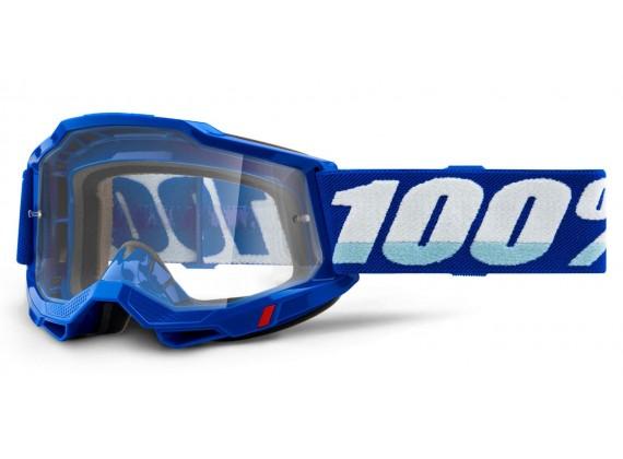 ACCURI 2 100% - USA , OTG brýle modré - čiré plexi
