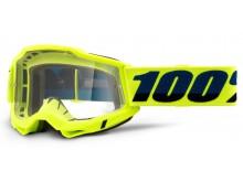ACCURI 2 100% - USA , OTG brýle žluté - čiré plexi