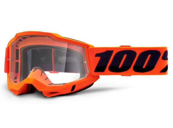 ACCURI 2 100% - USA , OTG brýle Orange - čiré plexi