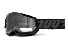 STRATA 2 100% - USA , brýle černé - čiré plexi