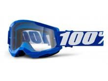 STRATA 2 100% - USA , brýle modré - čiré plexi