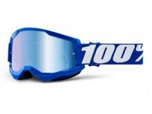 STRATA 2 100% - USA , brýle modré - zrcadlové modré plexi