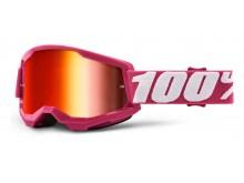 STRATA 2 100% - USA , brýle Fletcher - zrcadlové červené plexi