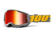 STRATA 2 100% - USA , brýle Izipizi - zrcadlové červené plexi
