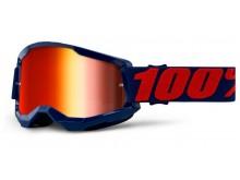 STRATA 2 100% - USA , brýle Masego - zrcadlové červené plexi