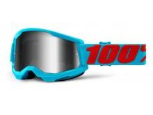 STRATA 2 100% - USA , brýle Summit - zrcadlové stříbrné plexi