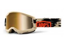 STRATA 2 100% - USA , brýle Kombat - True zlaté plexi
