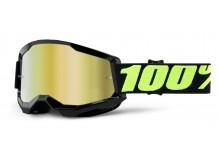 STRATA 2 100% - USA , brýle Upsol - zrcadlové zlaté plexi