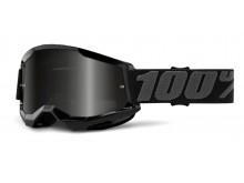 STRATA 2 100% - USA , Sand brýle černé - kouřové plexi