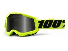 STRATA 2 100% - USA , Sand brýle žluté - kouřové plexi