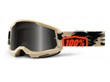 STRATA 2 100% - USA , Sand brýle Kombat - kouřové plexi