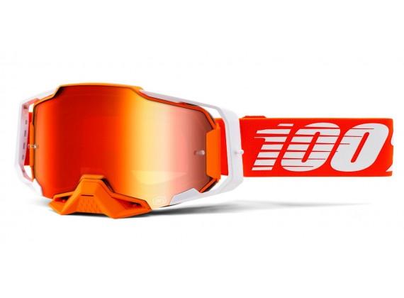 ARMEGA 100% - USA , brýle Regal - zrcadlové červené plexi