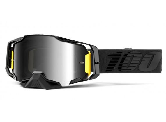 ARMEGA 100% - USA , brýle Nightfall - zrcadlové stříbrné plexi