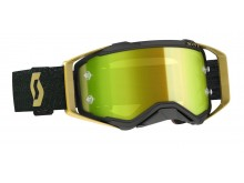 brýle PROSPECT, SCOTT - USA (černá/zlatá/ žluté chrom plexi)