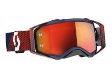 brýle PROSPECT, SCOTT - USA (červená/modrá/ oranžové chrom plexi)