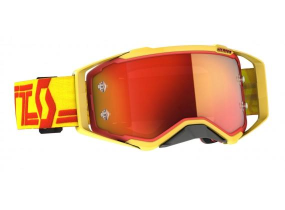 brýle PROSPECT, SCOTT - USA (žlutá/červená/ oranžové chrom plexi)