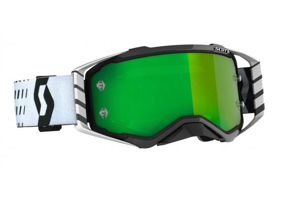 brýle PROSPECT, SCOTT - USA (černá/bílá/ zelené chrom plexi)