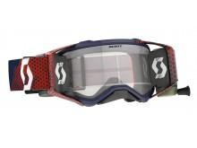 brýle PROSPECT WFS, SCOTT - USA (červená/modrá, čiré plexi s Roll-Off)