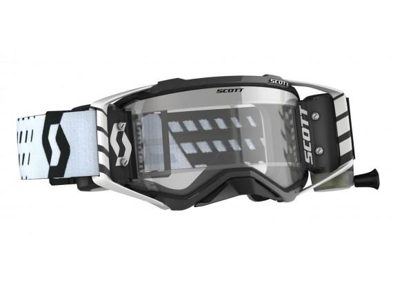 brýle PROSPECT WFS, SCOTT - USA (černá/bílá, čiré plexi s Roll-Off)