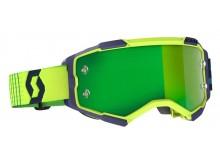 brýle FURY, SCOTT - USA (modrá/žlutá/ zelené chrom plexi)