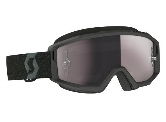 brýle PRIMAL, SCOTT - USA (černá/ stříbrné chorm plexi)