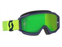 brýle PRIMAL, SCOTT - USA (modrá/žlutá/ zelené chorm plexi)