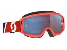 brýle PRIMAL, SCOTT - USA (červená/modrá/ modré chorm plexi)