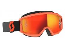 brýle PRIMAL, SCOTT - USA (oranžová/černá/ oranžové chorm plexi)