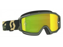 brýle PRIMAL, SCOTT - USA (camo zelená/ žluté chorm plexi)
