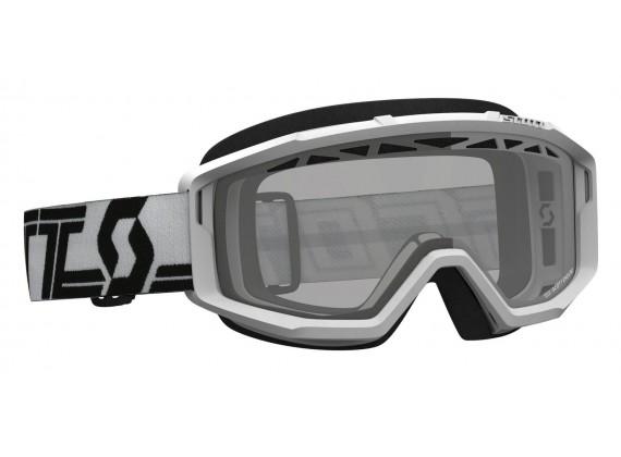brýle PRIMAL ENDURO, SCOTT - USA (bílá/černá/ čiré plexi)