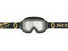 brýle PRIMAL ENDURO, SCOTT - USA (camo zelená/ čiré plexi)