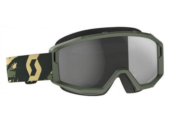 brýle PRIMAL SAND, SCOTT - USA (camo zelená/ šedé tmavé plexi)