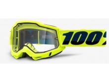 ACCURI 2 100% - USA , ENDURO brýle žluté - čiré plexi