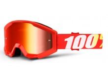 brýle Strata Furnace, 100% dětské (červené plexi s čepy pro slídy)