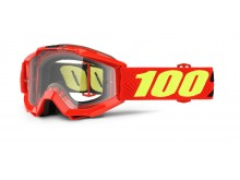brýle Accuri Saarinen, 100% dětské (čiré plexi s čepy pro slídy)