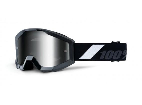 brýle Strata Goliath, 100% dětské (stříbrné chrom plexi s čepy pro slídy)
