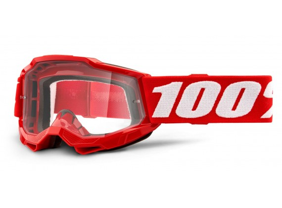 ACCURI 2 100% - USA , dětské brýle červené - čiré plexi