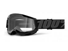 STRATA 2 100% - USA , dětské brýle černé - čiré plexi
