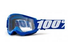 STRATA 2 100% - USA , dětské brýle modré - čiré plexi