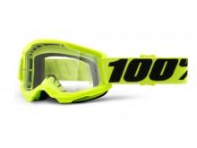 STRATA 2 100% - USA , dětské brýle žluté - čiré plexi