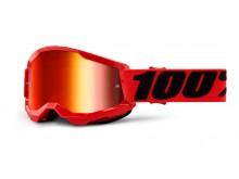 STRATA 2 100% - USA , dětské brýle červené - zrcadlové červené plexi