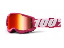STRATA 2 100% - USA , dětské brýle Fletcher - zrcadlové červené plexi