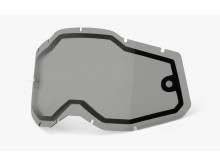 plexi Racecraft 2/Accuri 2/Strata 2, 100% - USA (dvojité kouřové, Anti-fog)