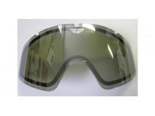 sklo FLY Zone double - FLY RACING (chromově kouřové)