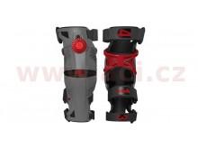 kolenní ortézy X8 sad L/P, MOBIUS - USA (šedá/červená)