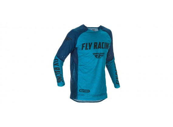 dres EVOLUTION 2021, FLY RACING - USA (modrá/černá)